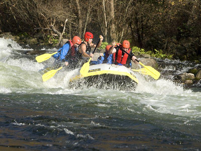 Rafting Nestos River